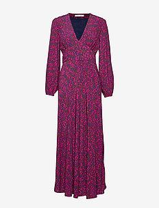 Cindy l dress aop 10056 - maxi kjoler - moonlight flower