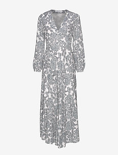 Cindy l dress aop 10056 - maxiklänningar - tapestry
