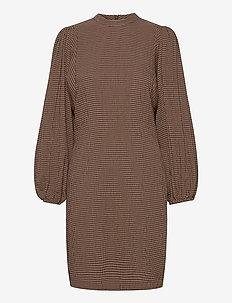 Harrietta short dress 11238 - igapäevased kleidid - argan check