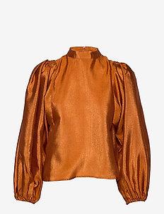 Harriet blouse 11244 - HONEY GINGER
