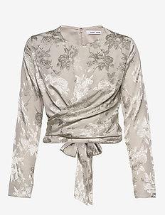 Ono blouse 11333 - SILVER CLOUD