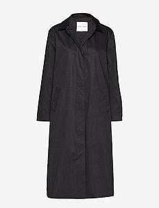 Minoux coat 12681 - BLACK