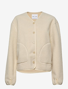 Gerda jacket 12666 - neuletakit - warm white