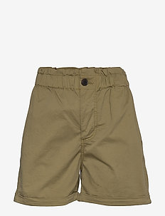 Tournon shorts 11303 - paper bag shorts - air khaki