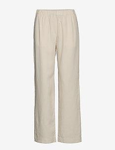 Hoys straight pants 12663 - broeken med straight ben - warm white