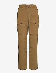 Sukari trousers 11531 - straight leg trousers - dijon