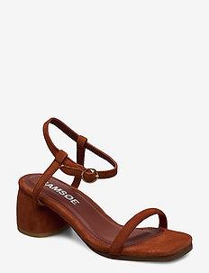 Nozina heel 025 - højhælede sandaler - picante