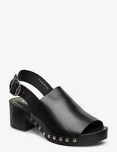 Cluetta sandal 11519 - højhælede sandaler - black