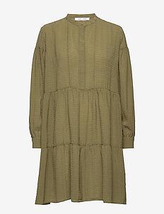 Margo shirt dress 12697 - korte kjoler - air khaki
