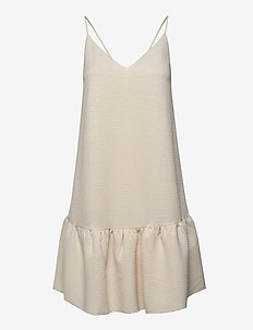 Judith short dress 11242 - lyhyet mekot - warm white
