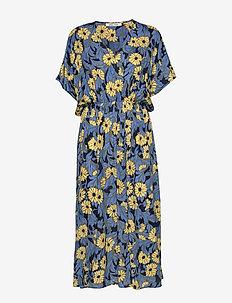 Andina long dress aop 8083 - midimekot - marguerite