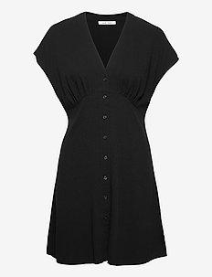 Valerie short dress 11238 - hverdagskjoler - black