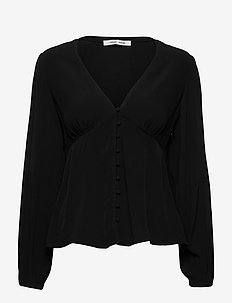 Petunia blouse 10056 - long sleeved blouses - black