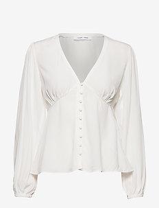 Petunia blouse 10056 - blouses à manches longues - clear cream