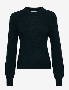 Jaci crew neck 12757 - pullover - darkest spruce mel.