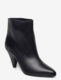 Myrassa boot low 7556 - ankelstøvler med hæl - black
