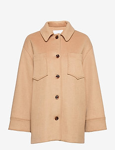 Dione overshirt 12847 - overshirts - dull gold