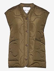 Amazon vest 12853 - polstrede vester - dark olive