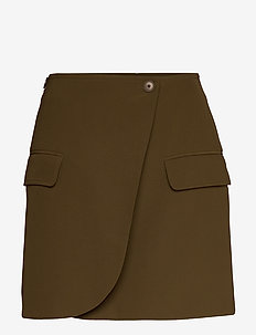 Citrine skirt 10654 - jupes courtes - dark olive