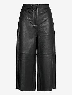 Ceti trousers 12896 - lederhosen - black
