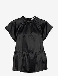 Star blouse 12785 - kortärmade blusar - black