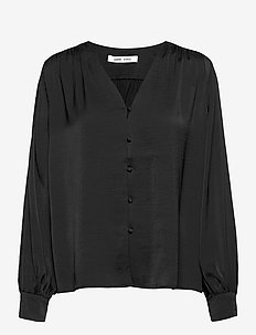 Jetta shirt 12770 - langærmede bluser - black