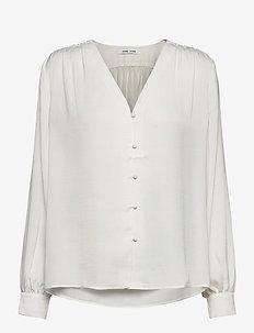Jetta shirt 12770 - langærmede bluser - whisper white