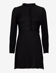 Zarani ls dress 12893 - midi-kleider - black