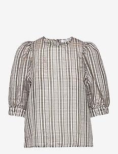 Celestine blouse 12773 - lyhythihaiset puserot - gold ch.