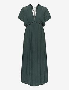 Quartz long dress 6621 - midi dresses - darkest spruce