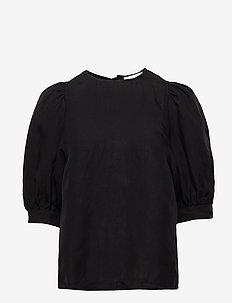 Celestine blouse 12771 - kortærmede bluser - black