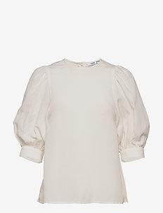Celestine blouse 12771 - kortærmede bluser - whisper white