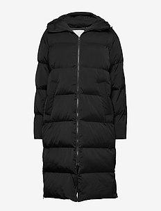 Sera coat 12891 - parkatakit - black