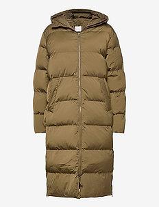Sera coat 12891 - parkacoats - dark olive