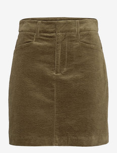 Moonstone skirt 12864 - short skirts - dark olive
