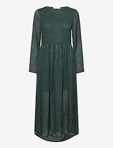 Larimar long dress 11240 - midi dresses - darkest spruce
