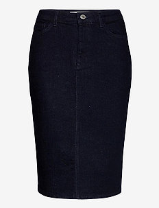 Buibui skirt 12900 - denim skirts - indigo