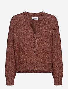 Etaya cardigan 12759 - swetry rozpinane - cinnamon mel.
