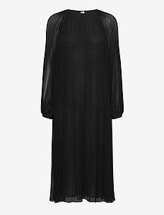 Elena dress 11185 - sukienki do kolan i midi - black