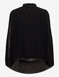 Lady ls blouse 11185 - long sleeved blouses - black