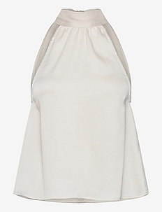 Rheo top 12959 - Ärmlösa blusar - antique white