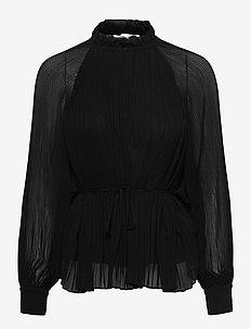 Soraya blouse 11185 - langærmede bluser - black