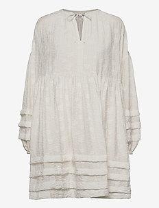 Roya short dress 13085 - summer dresses - bright white