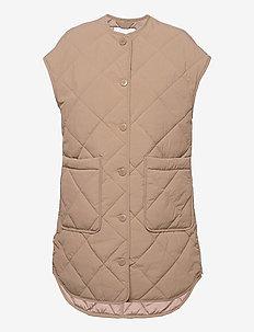 Ruth vest 12852 - puffer vests - caribou