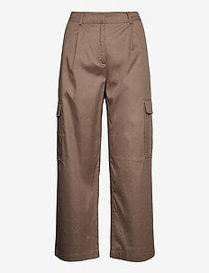 Dakota trousers 13130 - bukser med brede ben - caribou