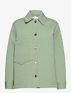 Ember jacket 13107 - wool jackets - vineyard green