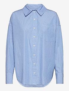 Arielle shirt 11466 - langärmlige hemden - dusty blue st.