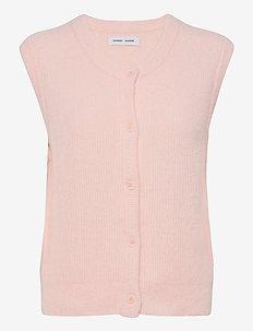Nor cardigan vest 7355 - kootud vestid - crystal pink mel.