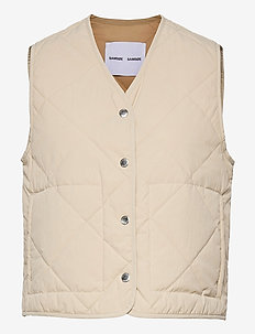 Blake vest 13166 - puffer vests - brown rice