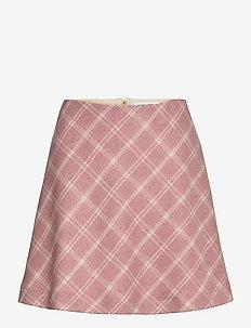 Keira skirt 13156 - midi nederdele - soft pink ch.